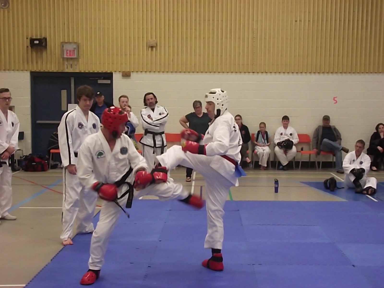 Dave Sparring