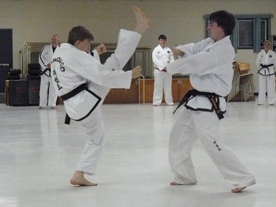 High Kick Taekwondo