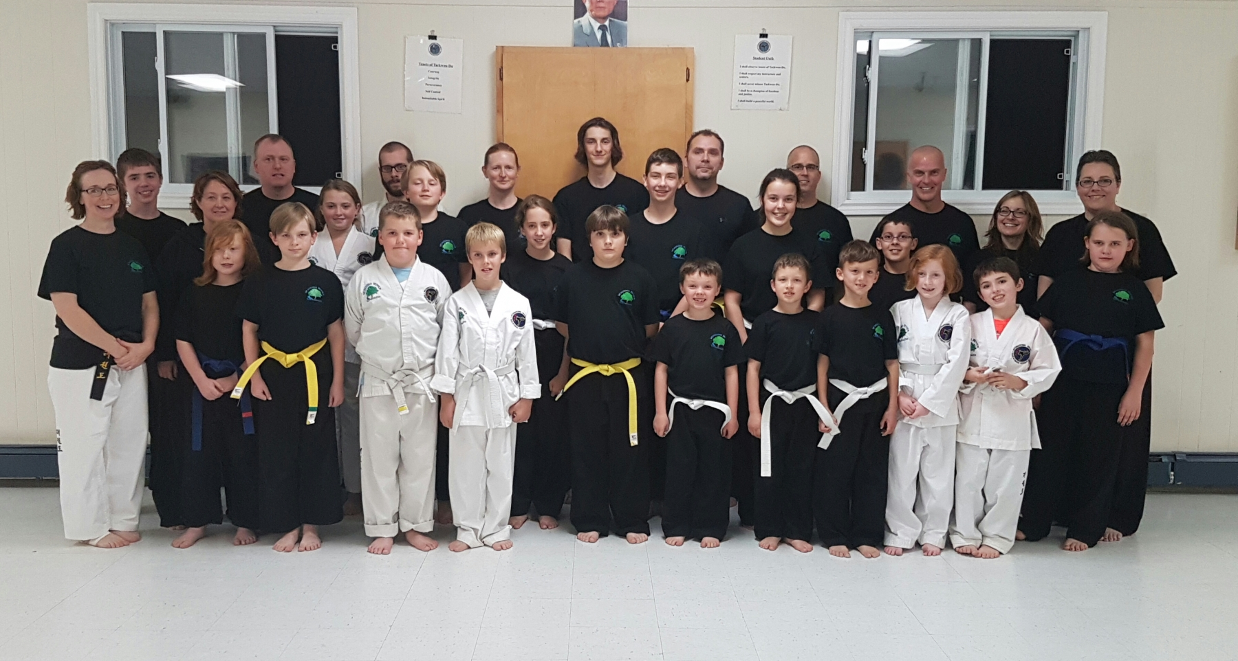 Taekwon-Do Students